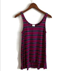 Ella Moss Striped Tank